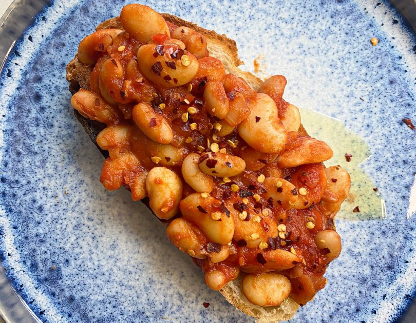 Chilli Beans and Toast