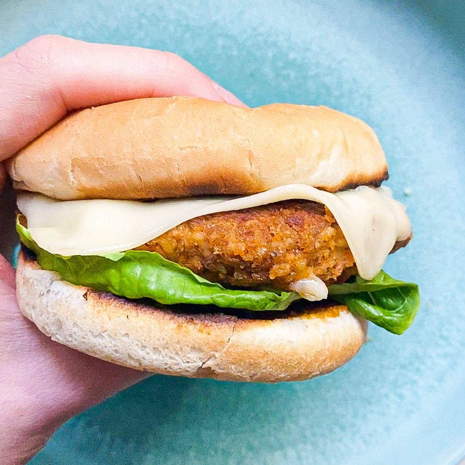 20 minute vegan burger